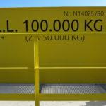 100 Ton bovenloopkraan