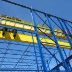 100 ton bovenloopkraan proceskranen