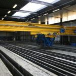 Stortkraan heipalenfabriek proceskranen