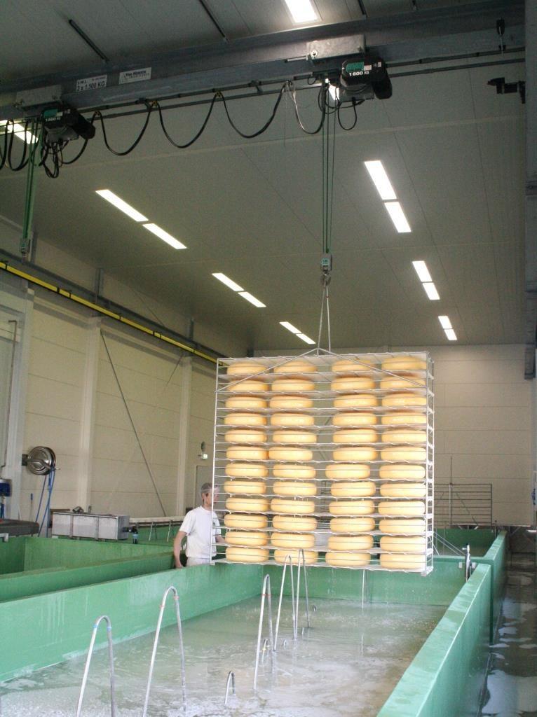 Kaasfabriek kraan